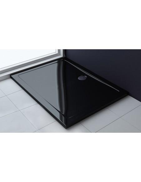 Brodzik Breno 80 x 100 Black