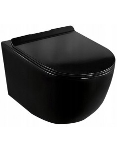 Misa WC Podwieszana Loyd Black Czarna
