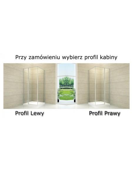 Kabina Prysznicowa Atrium 80 x 100 cm