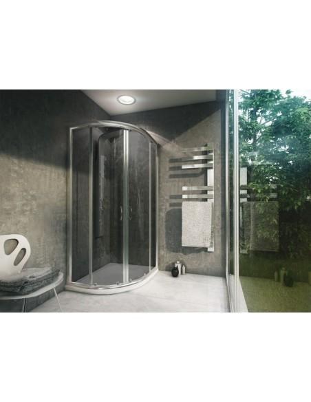 Kabina Prysznicowa z brodzikiem 80 x 100 Impuls Plus Rea